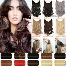Straight Wire Headband One Piece Clip in on Hair Extensions As Human hairpiece4