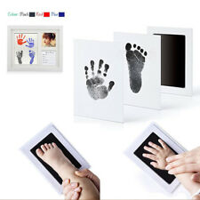 Creative Non-Toxic Newborn Baby Footprint Ink Pad Handprint Photo Touch Inkless
