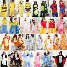 Animal Kid Children Adult Unisex Kigurumi Cosplay Costume Pyjamas Pajamas NEW