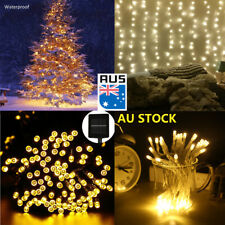 Solar/Battery Powered LED String Christmas Party Wedding XMAS Fairy Lights Lamps