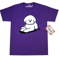 Inktastic Bichon Frise T-Shirt By KiniArt Dog White Dogs Mens Adult Clothing Kim