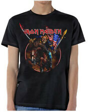 Iron Maiden: Maiden England USA Custer T-Shirt  Free Shipping  New  Official