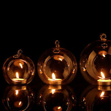 Clear Hanging Glass Candle Holder Votive Candlestick Wedding Party Decor Classy