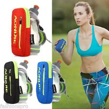 AONIJIE 250ML Outdoor Running Handheld Water Bottle 4.7 inch Hydration Pack NEW