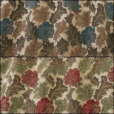 iLiv Harrington Designer Floral Woven Curtain Upholstery Fabric | 2 Colours