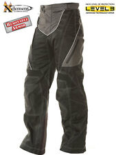 Xelement Advanced Level-3 Black Tri-Tex Fabric Motorcycle Pants size 30 32 34