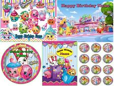 SHOPKINS EDIBLE CAKE OR CUPCAKES TOPPER ICING SUGAR SHEET IMAGE PHOTO PARTY