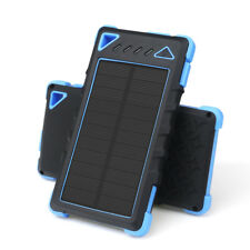 Solar Power Bank 300000mAh Portable USB Waterproof LED Battery Universal Charger