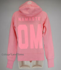 NEW Lululemon Scuba Hoodie Stretch OM NAMASTE 6 12 Pink Shell NWT FREE SHIP