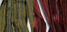 Filati FF Kristha Italian Bulky Nylon Ribbon Yarn Color Choice Loom Knit Crochet