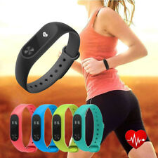 Smart Watch Mi 2 Wristband Strap Heart Rate Monitor Step Counter Touch