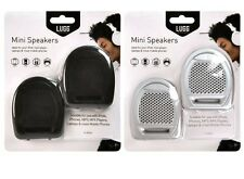 Lugg Mini Speakers Ideal for Laptops, iPod, MP3 Players etc