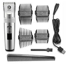 Digoo BB-T1 X-Blade Rechargeable Hair Trimmer wi/ 4 Limiting Comb - US Stock