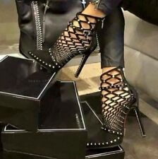 NEW Women High Heels Pumps Sexy Stiletto Studded Ankle Boots Party Fashion Shoes