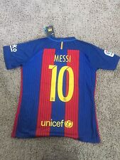 NEW Messi Nike FC Barcelona season 2017 Men Home Jersey #10 Medium, Large, XL