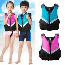 Kids Children Life Jacket Vest Inflatable Universal Swimming Boating Water Ski