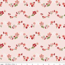 Riley Blake Fabric - Sweet Prairie Chains C6544 Pink by Sedef Imer - Quilting