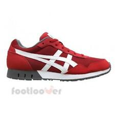 Shoes Asics Curreo HN537 2301 Man Sneakers True Red White Mesh Suede