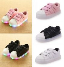 Kids Boys Girls Light Up Luminous LED Shoes Children Trainers Sports Sneakers