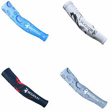 Thin Cycling Bicycle Summer Sport Protective Sunscreen Oversleeves Arm Sz L