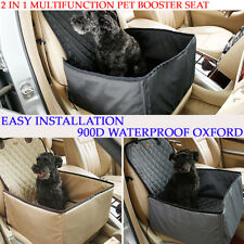 Deluxe Portable Pet Booster Car Seat Pet Dog Cat Puppy Carrier Travel Safety Bag