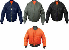 FOX OUTDOOR Air Force Military Reversible MA-1 Bomber Jacket Flight Coat