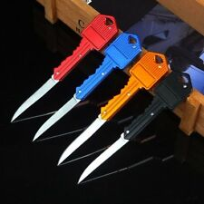 Fishing Camping Outdoor Survival Pocket Folding Blade Key Knife Mini Small Knife