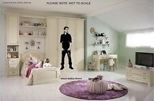 JUSTIN BIEBER - WALL ART DECAL STICKER - 6FT TALL