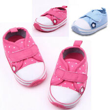 Hot Kids Childrens Infants Girls Canvas Outdoor Todddler Shoes 3 SIZE