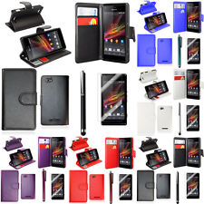 Protection Cover for Sony Xperia Z1 L39h C6902 C6903 Phone Briefcase Flip Case