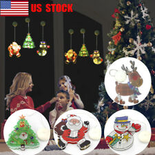 LED String Lights Christmas Battery LED Sucker Colorful Window Decor Lights Lamp