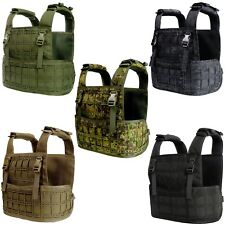 Tactical Military CPC MOLLE Vest PALS Plate Carrier Chest Assault Rig Armour MS