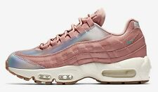 Nike AIR MAX-95 SE WOMEN'S SHOE Red Stardust/Sail/Washed Teal-Size US 9,9.5 Or10