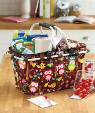 Insulated Tote Bag Cooler Lunch Picnic Thermal Bags Basket Collapsible Box Pouch
