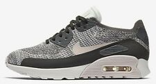 Nike AIR MAX-90 ULTRA 2.0 FLYKNIT WOMENS SHOE Midnight Fog/Sail-US 5,5.5,6 Or6.5