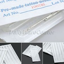 7RL Pro Tattoo Machine Needles Disposable Sterile Round Liner Shader 10/50Pcs