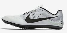 Nike ZOOM VICTORY-3 WOMEN'S RACING SPIKE White/Volt/Black-Size US 5.5,6,6.5 Or 7