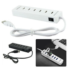2-In-1 6-Port High Speed USB 2.0 Hub Comb SD/TF Card Reader For Laptop Computer