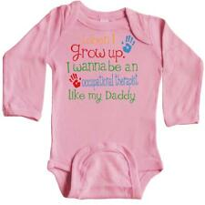 Inktastic Occupational Therapist Like Daddy Long Sleeve Creeper Child's Kids Son
