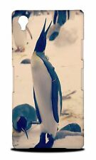 FUN CLASSIC ZOO ANIMAL PENGUIN #3 HARD CASE COVER FOR SONY XPERIA Z1 L39H