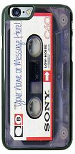 Customized Sony Cassette Tape Phone Case Fits iPhone iPod Samsung With Yr Text