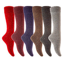 Lian LifeStyle Big Girls' 5 Pairs Knee High Wool Socks Size 7-9 35% Off