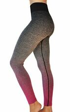 Dry Fit Yoga Pants Stretchy Fold Over Waistband Slimming Workout Leggings