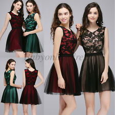 Vintage Lace Short Cocktail Dress Party Homecoming Gown Prom Dress New Arrival