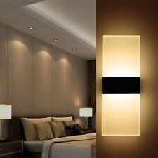 Modern LED Wall Light Up Down Cube Indoor Outdoor Sconce Lighting Lamp Fixture