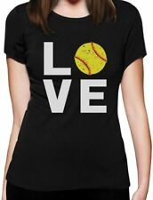 Love Softball - Gift for Softball Fans Women T-Shirt Softball Player
