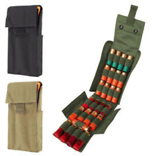 12G 20G Ammo Holder Shotgun Sling Molle with 25 Round Magazine Pouch Army Green