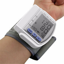 Monitor LCD Digital Wrist Cuff Automatic Blood Pressure Health Care