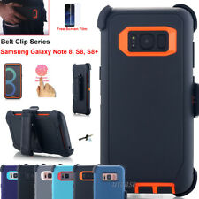 Belt Clip Holster Case w/ Kickstand Armor Defend Cover For Samsung Galaxy NOTE 8