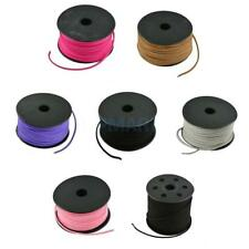 3mm Faux Suede Cord Leather Velvet Beading Thread For Bracelet Necklace DIY